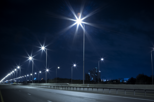 Road lighting quality verification using luminance distribution method.