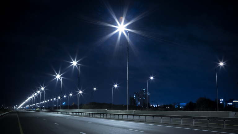 gl optic Road lighting quality verification using luminance distribution method. small
