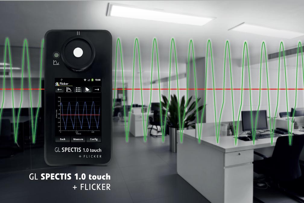 GL Optic Spectis flicker stroboscopic effect new ecodesign reguirements